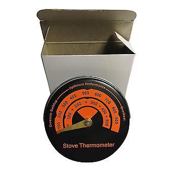 Magnetisches Ofenthermometer Wärmebetrieben für Holz-Holz-Holz-Brennen