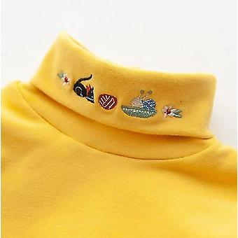 Long Sleeve Blouse For Autumn & Winter Clothes Bottoming Thicken Baby