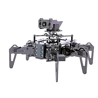 Hexapod Spider Robot Kit With Open Cv Target Tracking Video Transmission
