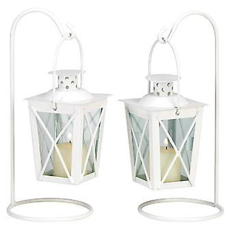 Gallery of Light Mini Railroad-Style Candle Lantern Pair, Pack of 1