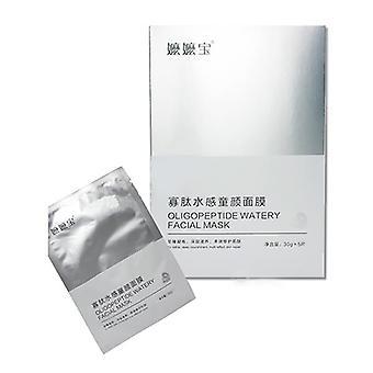 5Pcs Lmanyu Oligopeptide Watery Facial Mask