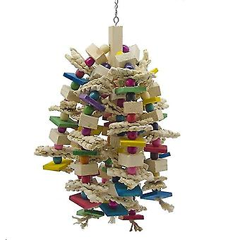 Bird toys large parrot chewing toy bird parrot cage bite toy for african grey macaws cockatoos|bird toys
