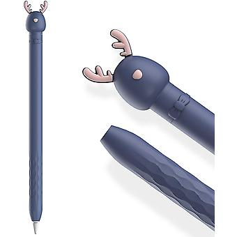 Étui pour Apple Pencil 1st Gen Mignon Cartoon Soft Silicone Sleeve Cover