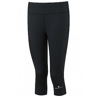 Ronhill Womens Running Capri Leggings - Powerlite Fabric - Reflective