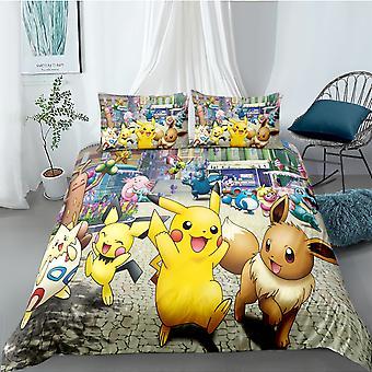 Ensemble de couette imprimée Pokemon 7
