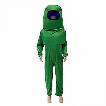 Children's Cosplay Among Us Costumes Kid's Fancy Dress Gaming Cosplay