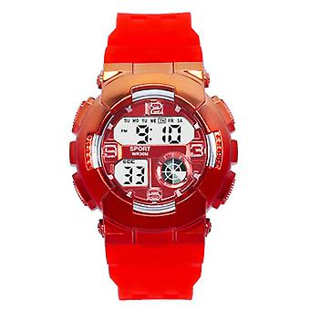 Colorful Student Watch Gradient Color Couple Electronic Watch