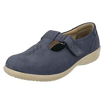 Ladies Padders T-Bar Casual Shoes Solo