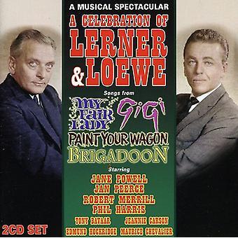 Cast Recording - A Celebration of Lerner & Loewe [CD] USA import