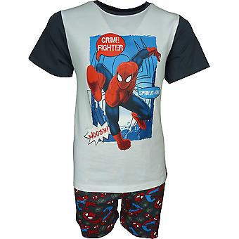 Ragazzi Marvel Spiderman breve pigiama Set