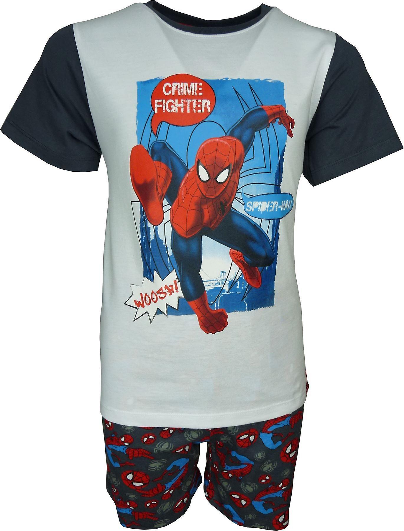 Ragazzi Marvel Spiderman breve pigiama Set
