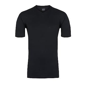 T-shirt do HOM Hilary V-Neck, preto