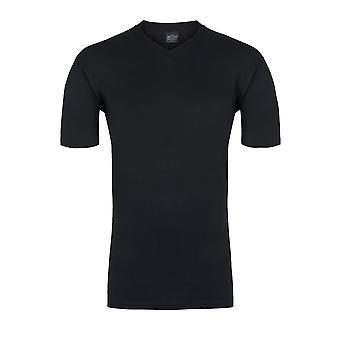 HOM Hilary V-Neck T-Shirt, Black