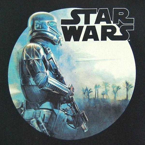 Star Wars Mens Star Wars Rogue One Troop Round T Shirt Black