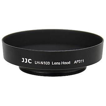 JJC replacement Nikon HN-N103 Lens Hood for Nikon 1 NIKKOR AW 10mm f/2.8, 1 NIKKOR AW 11-27.5mm f/3.5-5.6