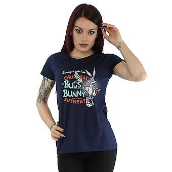 לוני טונס נשים ' s וינטאג ' באגס באני חולצת טי