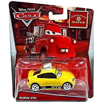 Disney Cars Rescue Squad Mater enfermera GTO 1.55 Diecast Car