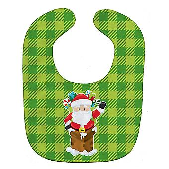 Каролинских сокровища BB9018BIB Рождество Санта-Клаус ребенок нагрудник