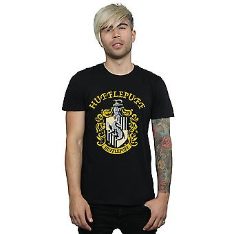 Harry Potter Men's Hufflepuff Crest T-Shirt