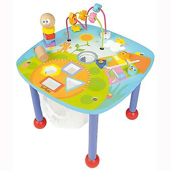 Boikido Activity Table Garden Wooden Toy