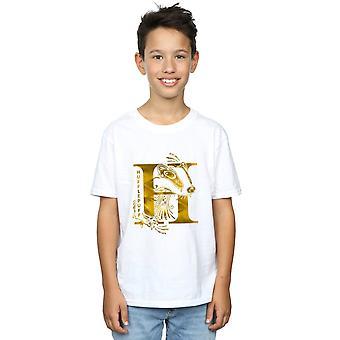 Harry Potter Hufflepuff Badger T-Shirt Boys