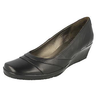 Ladies Van Dal Elegant Wedge Heel Shoe Nancy