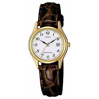 Lorus Brown Leather Strap RXT94AX9 Watch