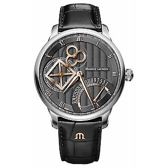 Maurice Lacroix Masterpiece Square Wheel Retrograde Automatic MP6058-SS001-310-1 Watch
