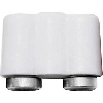 BELI-BECO 61/17ws Mini jack socket Connector, straight Pin diameter: 2.6 mm White 1 pc(s)