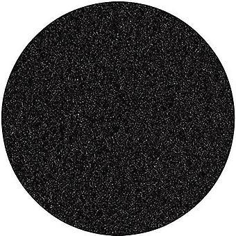 Velours Fleece schwarz