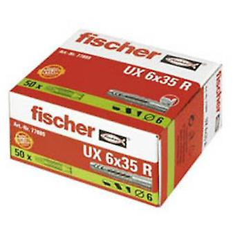 Fischer UX 6 x 35 R Universal dowel 35 mm 6 mm 77889 50 pc(s)
