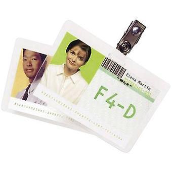GBC Laminate sheet 90 x 60 mm, Business cards 125 micron glossy 100 pc(s)