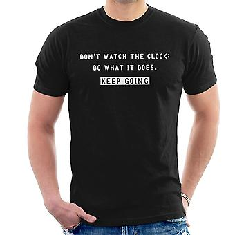Keep Going Sam Levenson Quote Men's T-Shirt