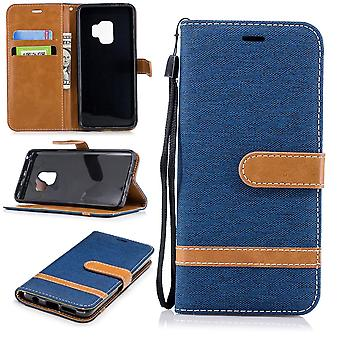 Samsung Galaxy S9 puhelimen tapauksessa suojakotelo kansi kotelo tapauksessa sininen
