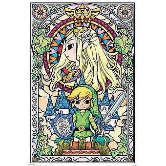 The Legend of Zelda Poster Kirchenfenster