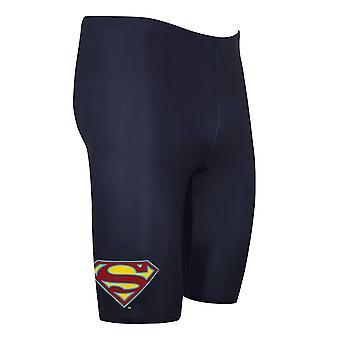 Zoggs Boys' Superman Jammer, Navy