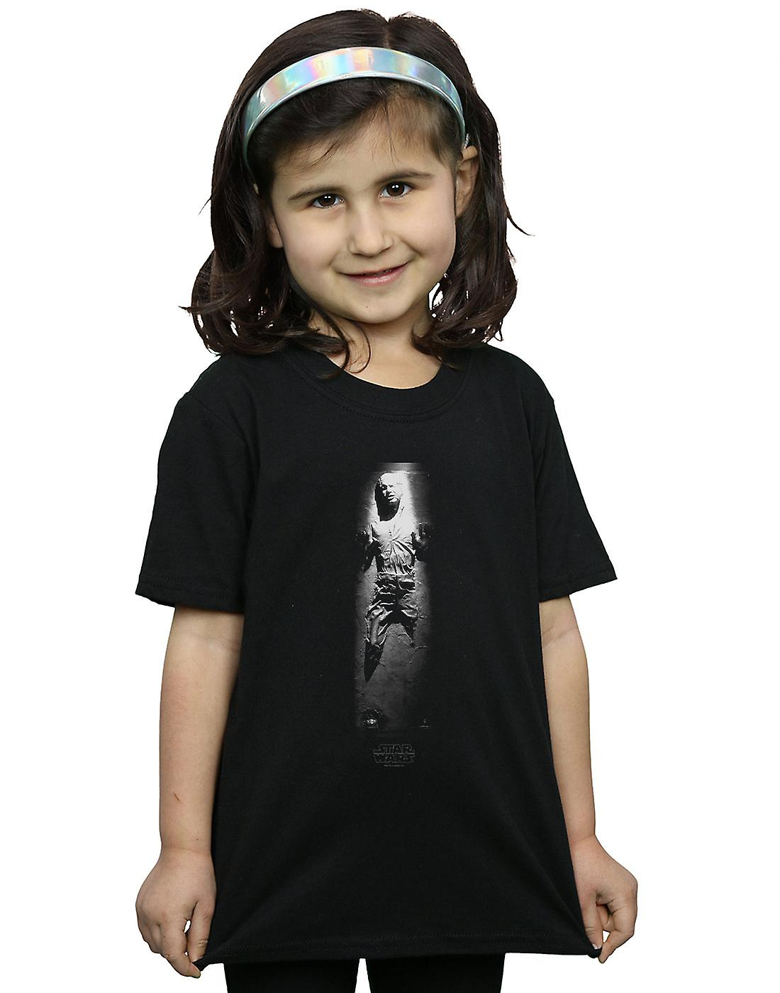 Star Wars Girls Han Solo Carbonite T-Shirt