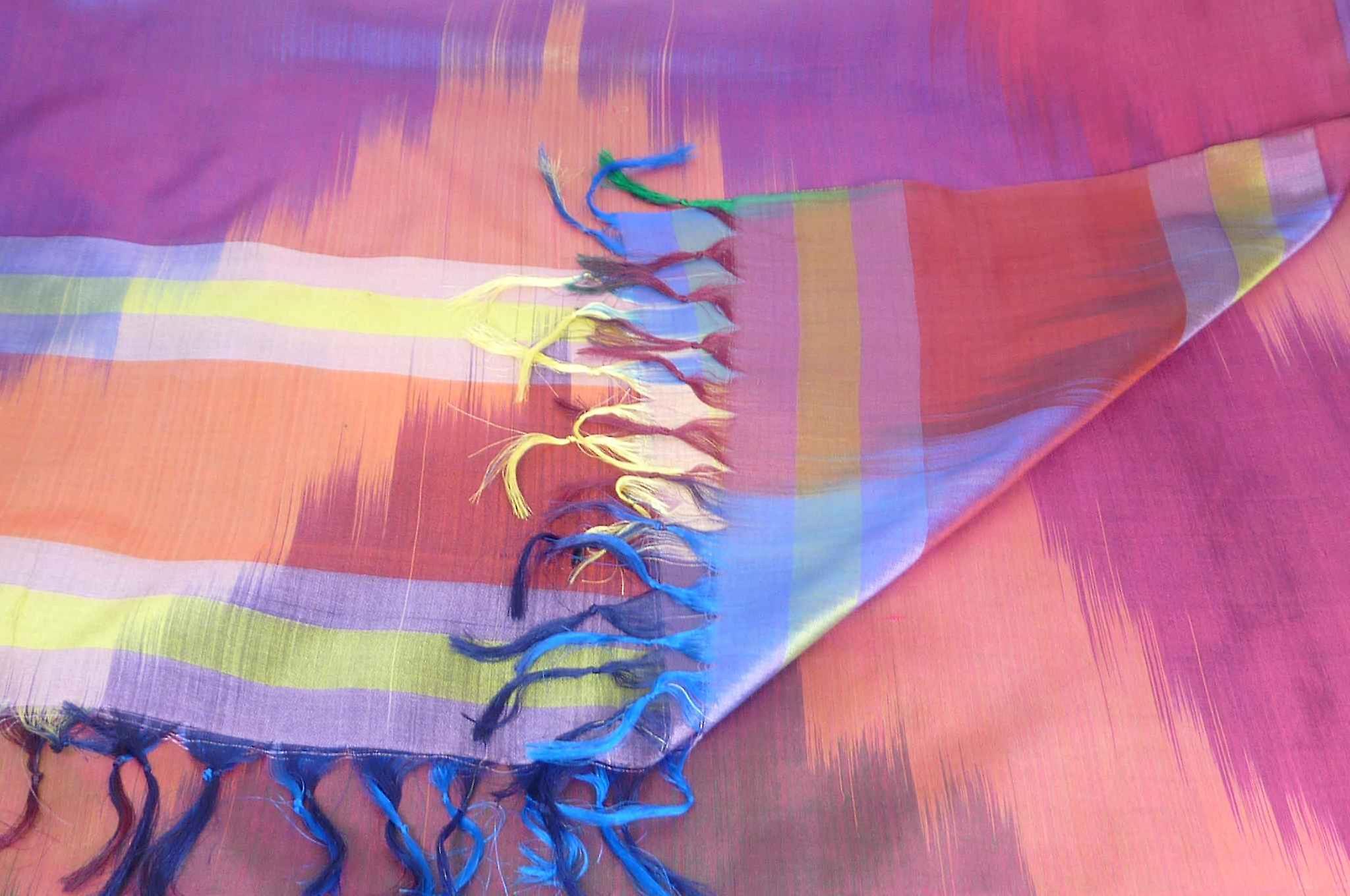 Varanasi Ekal Premium Silk Long Scarf Heritage Range Nath 3 by Pashmina & Silk