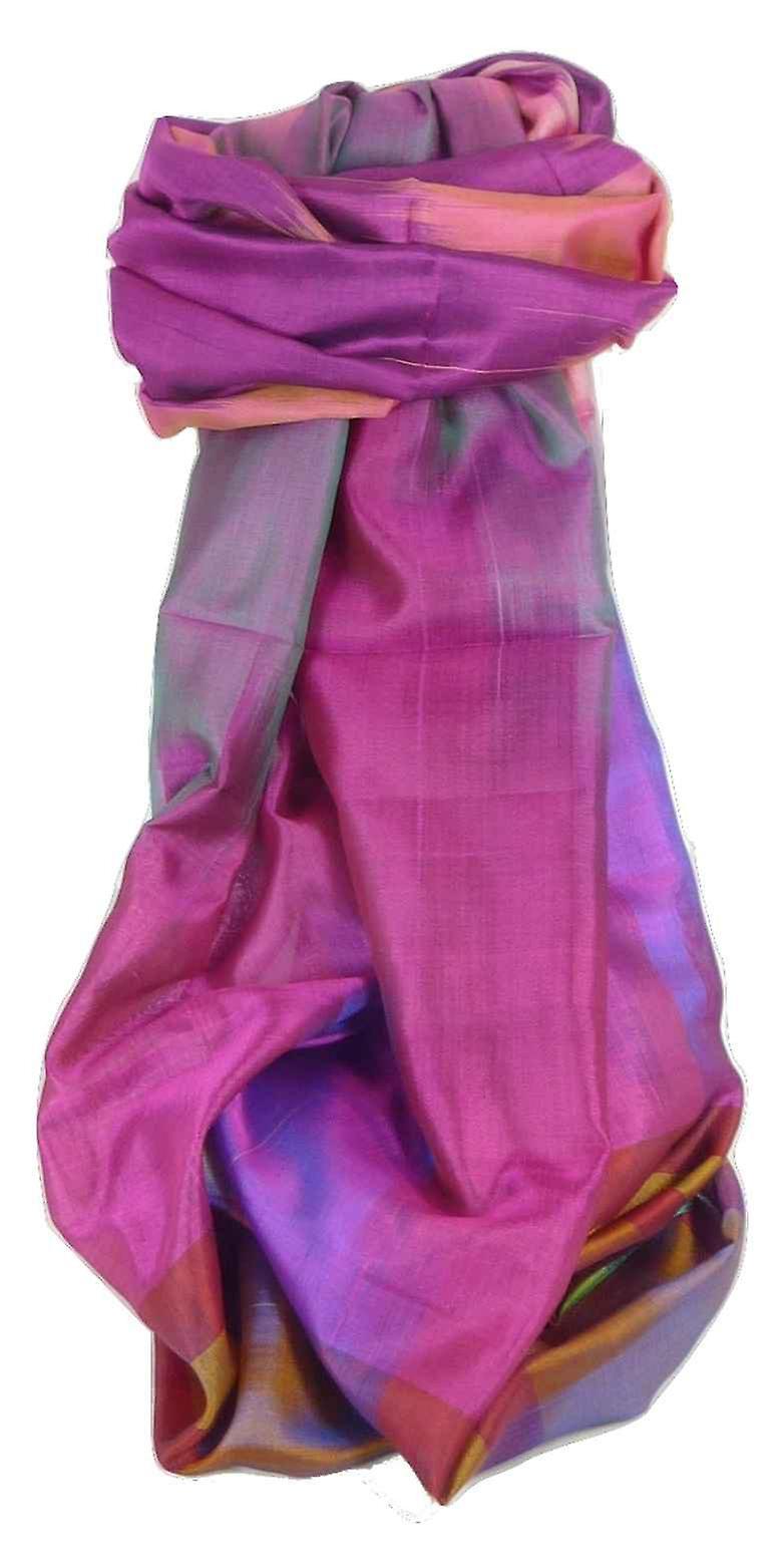 Varanasi Ekal Premium Silk Long Scarf Heritage Range Tamwar 1 by Pashmina & Silk