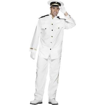 """Captain Costume, Chest 38""""-40"""", Leg Inseam 32.75"""""""