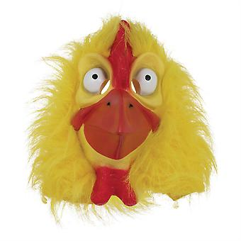 Chicken Mask Yellow Fur