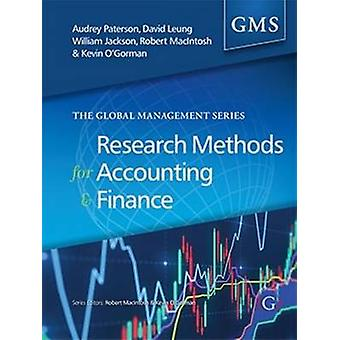 Research Methods for Accounting and Finance by Audrey Paterson - Davi