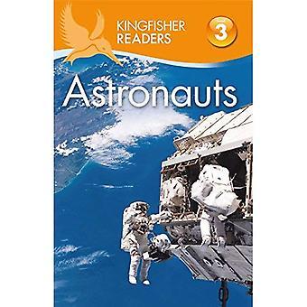 Ijsvogel lezers: Astronauten (niveau 3: lezen alleen met wat hulp)
