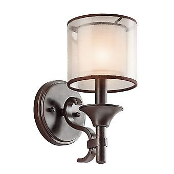 Lacey una luce applique - Elstead illuminazione Kl / Lacey1 MB