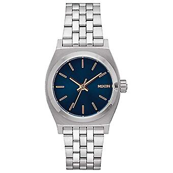 Nixon women's analog watch with metal plated stainless steel A11302195-00