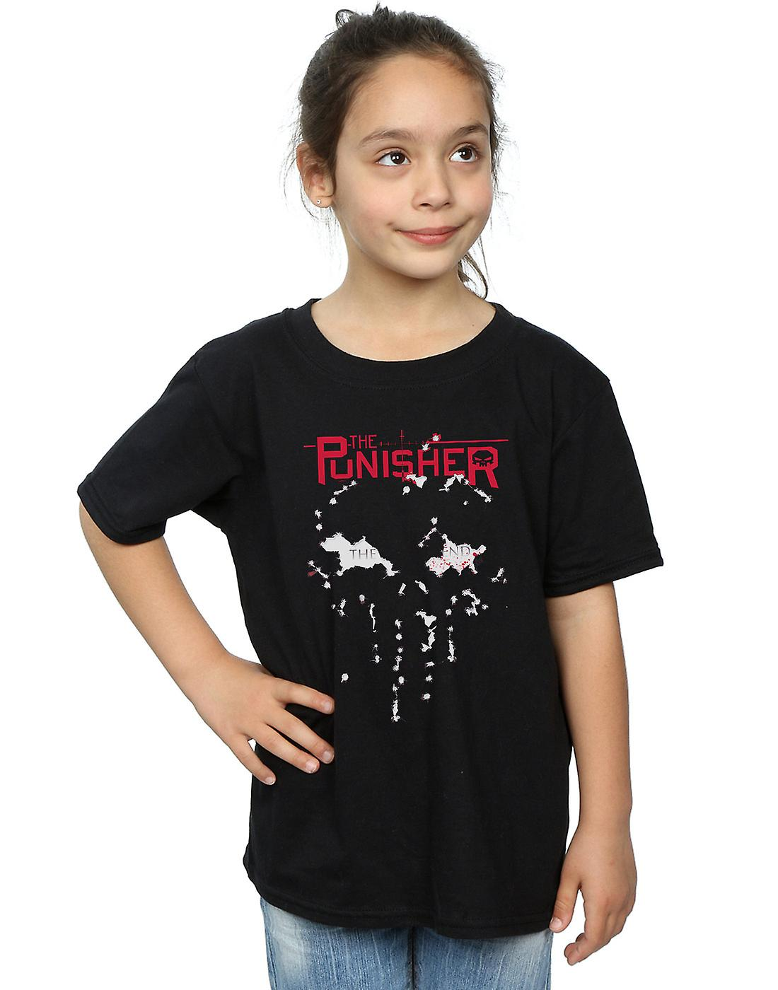 Marvel Girls The Punisher The End T-Shirt