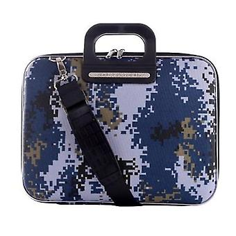 The AVIANO Bombata Briefcase by Fabio Guidoni Messenger Bag - 13 / Blue