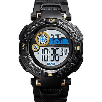 Skmei Large Dial Digital Watch Day Date Alarm Stopwatch Tough Sports Watch DG1467G