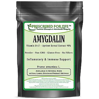Amygdalin-vitamiini B-17 jauhe-aprikoosi KERNAL ote 98% (Prunus armeniaca L.)