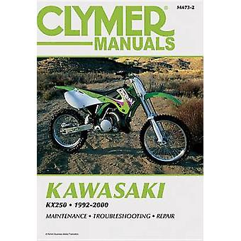 Kawasaki KX250 1992-2000 (2nd) by Penton - 9780892878673 Book